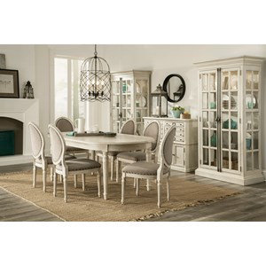 Riverside Furniture Huntleigh Formal Dining Room Group