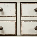 Riverside Furniture Huntleigh 7 Drawer Dresser in Vintage White Finish