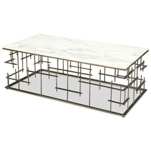 Riverside Furniture Jacquin Rectangular Coffee Table
