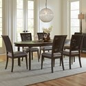 Riverside Furniture Joelle 7 Piece Table and Chair Set - Item Number: 63050+6x8