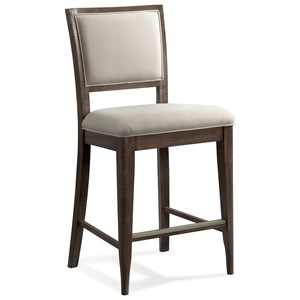 Upholstered Gathering Height Chair