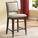 Riverside Furniture Joelle Upholstered Gathering Height Chair