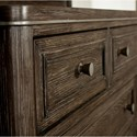 Riverside Furniture Joelle 9 Drawer Dresser with Cedar Lined Bottom Drawers