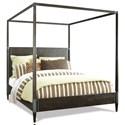 Riverside Furniture Joelle King Canopy Bed - Item Number: 63084+85+76+87
