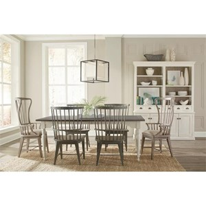 Riverside Furniture Juniper Formal Dining Room Group