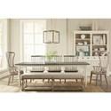 Riverside Furniture Juniper Formal Dining Room Group - Item Number: 444 Dining Room Group 2
