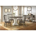 Riverside Furniture Juniper Casual Dining Room Group - Item Number: 444 Dining Room Group 3