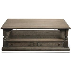 Riverside Furniture Juniper Rectangle Cocktail Table