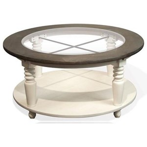 Riverside Furniture Juniper Round Cocktail Table