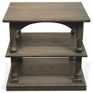 Riverside Furniture Juniper Rectangle End Table