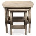 Riverside Furniture Juniper Nesting End Tables - Item Number: 44408