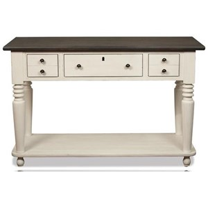 Riverside Furniture Juniper Rectangle Console Table