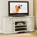 Riverside Furniture Juniper TV Console with Adjustable Shelving