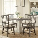 Riverside Furniture Juniper 5 Piece Table and Chair Set - Item Number: 44451+8+4x2