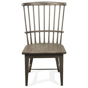 Riverside Furniture Juniper Windsor Side Chair