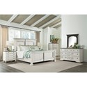 Riverside Furniture Juniper 10-Drawer Dresser with Two-Tone Finish