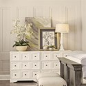 Riverside Furniture Juniper 3 Drawer Bunching Chest with Electric/USB Outlet Bar