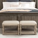 Riverside Furniture Juniper Upholstered Bunching Bench