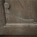 Riverside Furniture Juniper King Panel Bed in Charcoal Finish