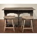 Riverside Furniture Juniper Counter Stool with Saddle-Shape Seat