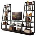 Riverside Furniture Kali Entertainment Wall Unit - Item Number: 38640+2x17