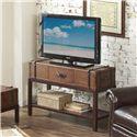 Riverside Furniture Latitudes Rectangular Sofa Table with 3 Drawers