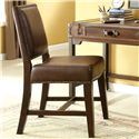 Riverside Furniture Latitudes Upholstered Desk Chair with Nailhead Trim - 38738 - Shown in Room Setting