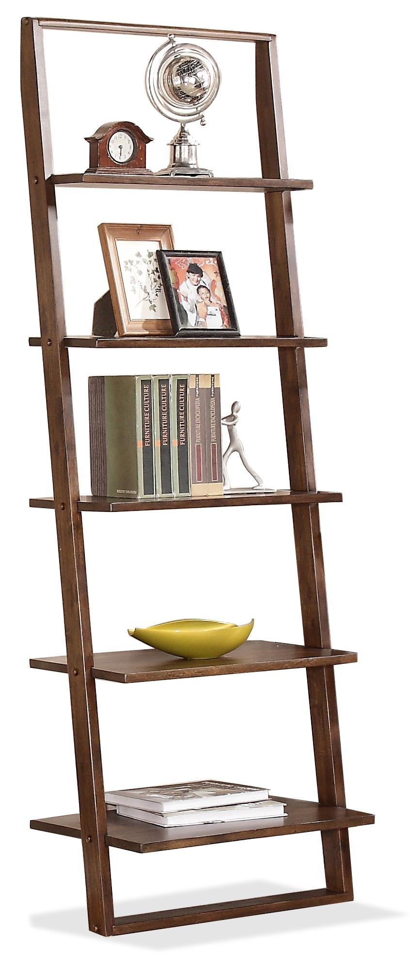 Riverside Furniture Lean Living Leaning Bookcase - Item Number: 27837