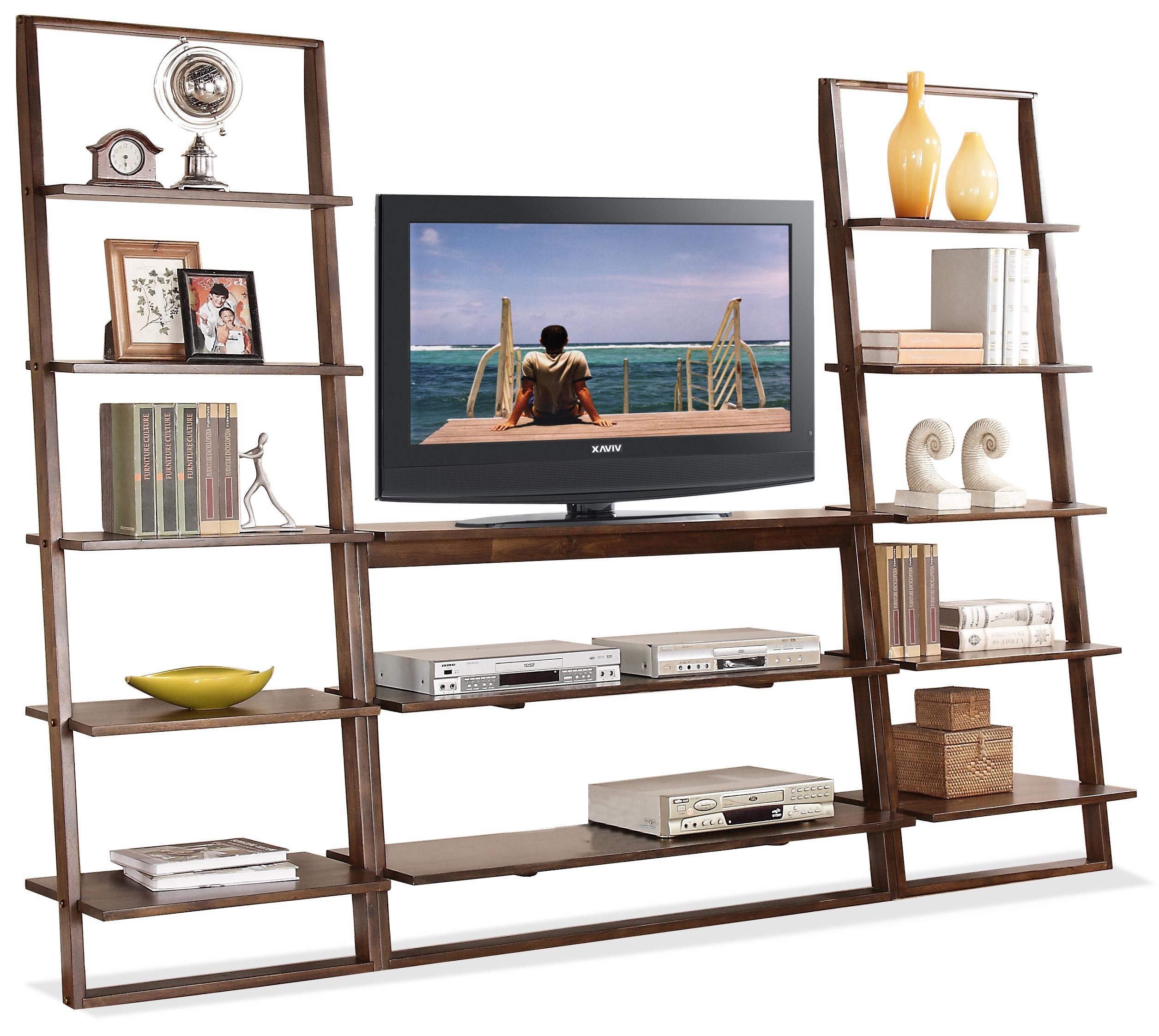 Riverside Furniture Lean Living Entertainment Wall Unit - Item Number: 27843+2x37