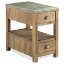 Riverside Furniture Liam Chairside Table - Item Number: 71112