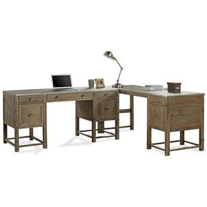 Riverside Furniture Liam L-Shaped Desk