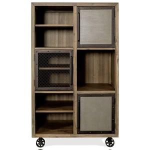 Caster Bookcase