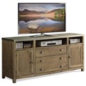 Riverside Furniture Liam 64-In TV Console - Item Number: 71142