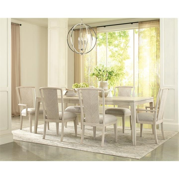 Riverside Furniture Lilly 7 Piece Table And Chair Set