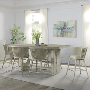 7-Piece Counter Height Table and Chair Set