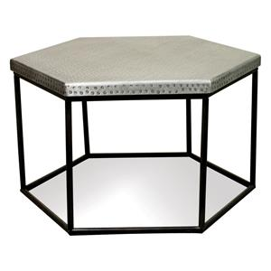Riverside Furniture Lyric Hexagon Coffee Table