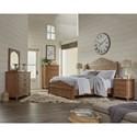 Riverside Furniture Madison California King Bedroom Group - Item Number: 7600 CK Bedroom Group 1