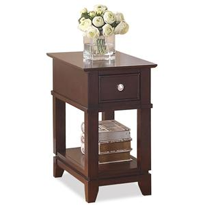 Riverside Furniture Marlowe Chairside Table