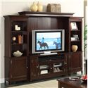 Riverside Furniture Marlowe Entertainment Wall Unit - Item Number: 65840+43+48+49