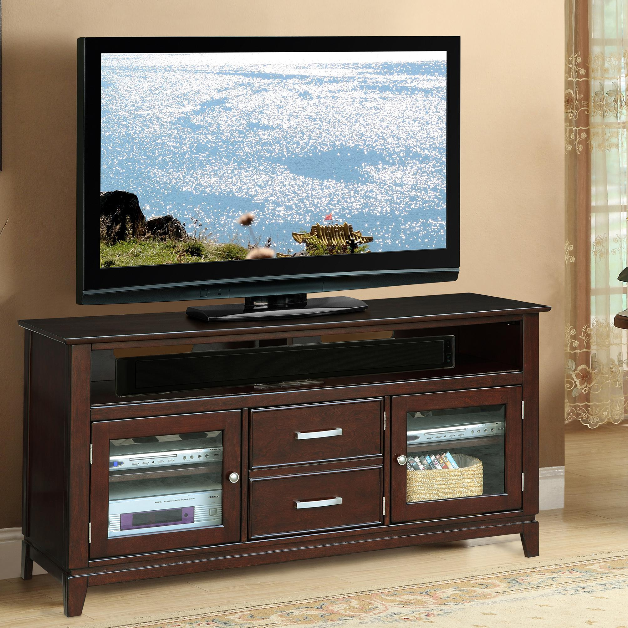 Riverside Furniture Marlowe 2 Drawer 60 Inch TV Console With 2 Doors   AHFA    TV Stands Dealer Locator