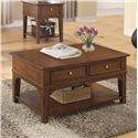 Riverside Furniture Marston Cocktail Table w/ Drawers