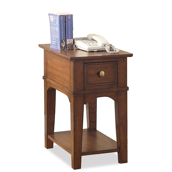 Riverside Furniture Marston Chairside Table           - Item Number: 65512