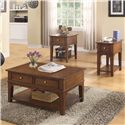 Riverside Furniture Marston Chairside Table w/ Drawer
