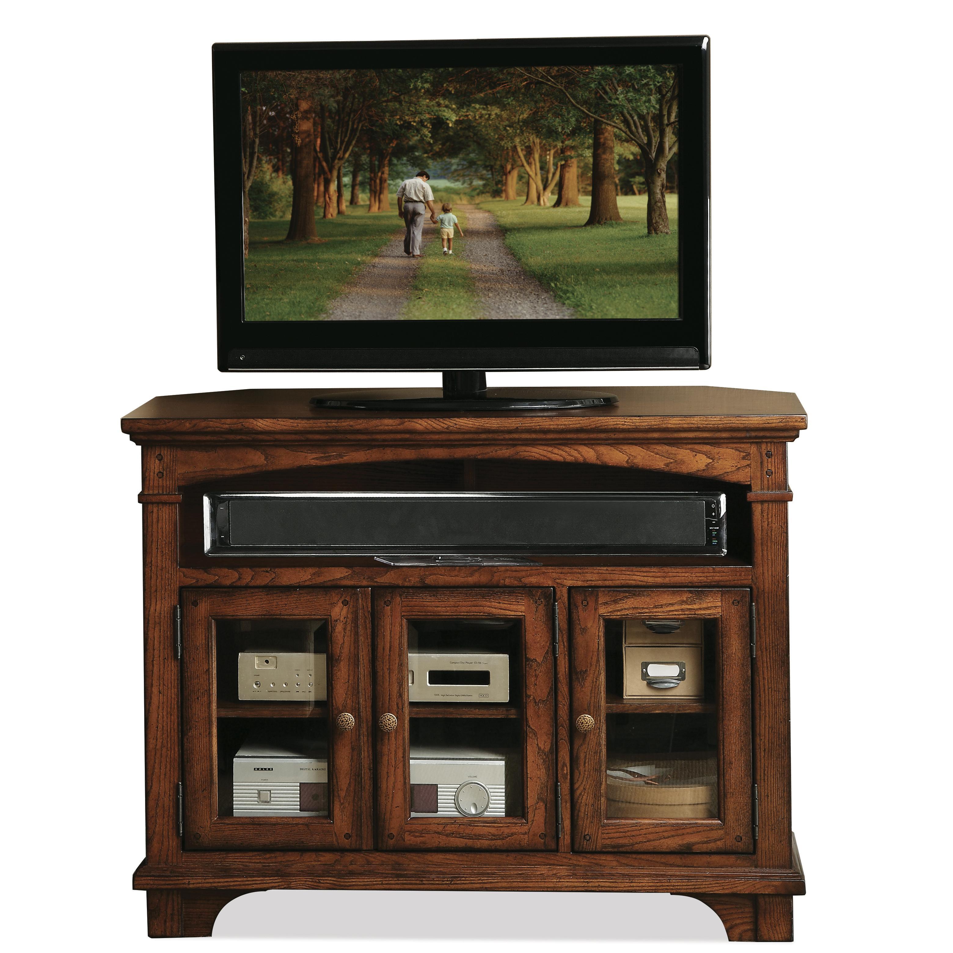 Riverside Furniture Marston Corner Tv Console  - Item Number: 65541