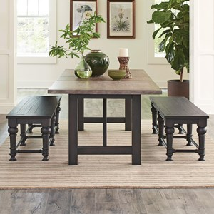 Table with 2 Benches