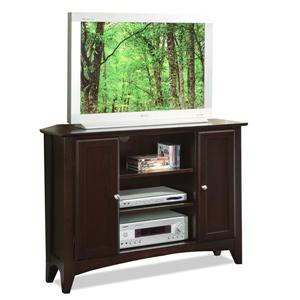 "Riverside Furniture Metro II 44"" Corner Console"