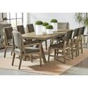 Riverside Furniture Milton Park 9-Piece Dining Set  - Item Number: 18652+3x56+3x58+2x57