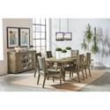 Riverside Furniture Milton Park Formal Dining Group  - Item Number: 186 Dining Room Group 2