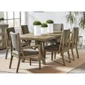 Riverside Furniture Milton Park 7-Piece Dining Set  - Item Number: 18652+4x56+2x57