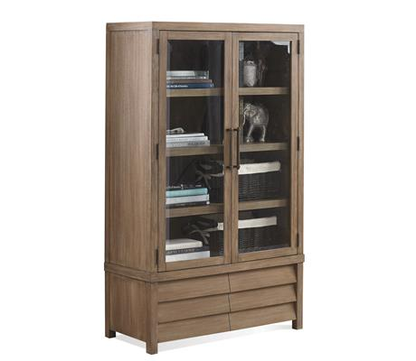 Riverside Furniture Mirabelle Cabinet Bookcase - Item Number: 26237